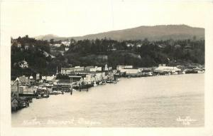 Christian Harbor New Harbor Oregon 1950s RPPC Photo Postcard 12529