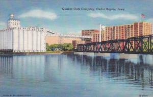 Iowa Cedar Rapids Quaker Oats Company Curteich