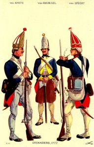 Brunswick Regiment - Grenadiers, 1777