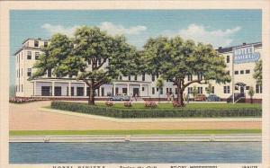 Hotel Riviera Biloxi Mississippi 1942 Curteich