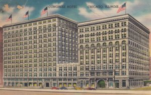 CHICAGO, Illinois, 30-40s; Congress Hotel
