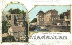 Hohbarr, Partie am Kanal Zabern Germany 1899