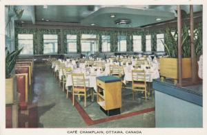 OTTAWA, Ontario, Canada, 40-60s; Cafe Champlain