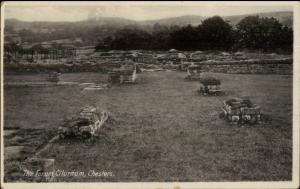 Archaeology - Cilurnum Chesters Chollerford c1910 Postcard THE FORUM