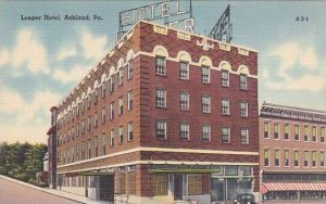 Pennsylvania Ashland Loeper Hotel