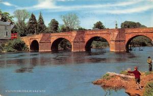 Wilton Bridge River Wye Fishermen
