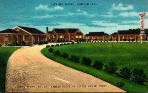 Virginia Norfolk The Cavalier Motel