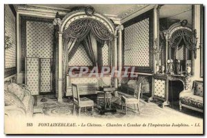Old Postcard Palace of Fontainebleau Chateau's Sunset L Imperatrice