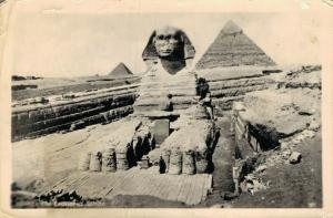 Egypt The Excavated sphinx 02.06