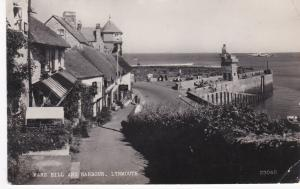 Postcard Devon Lynmouth Mars Hill and Harbour