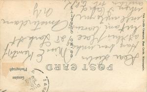 Lake Andes South Dakota~Rest Haven Veranda~Real Photo Postcard 1920