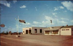 Dale's Tire Shop & Diner Esso Gas Station Rte 4 Gettysburg PA Postcard