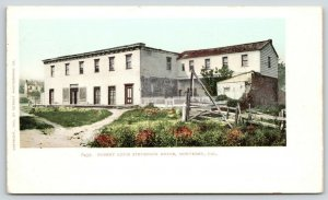Monterey California~Robert Lewis Stevenson House~House Behind~c1905 Postcard