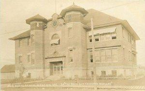 Medford Oregon 1920s North School RPPC Photo Postcard Patton 11579