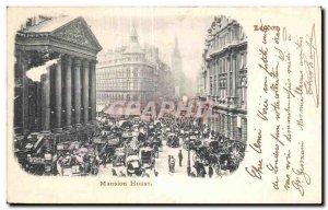 Postcard Old Mansion House London London