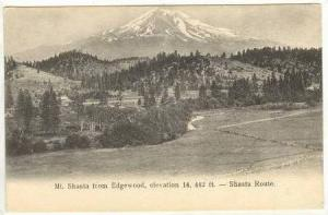 View Of Mount Shasta From Edgewood, California, 00-10s