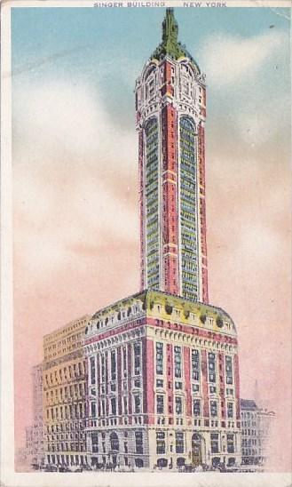 New York City Singer Building