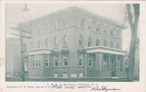 Y. M. C. A. Building, Concord, New Hampshire, PU-1910