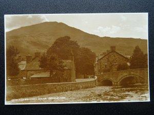 Wales BEDDGELERT Llewellyn's House c1915 RP Postcard by Judges 3674