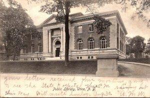New York Utica Public Library 1907