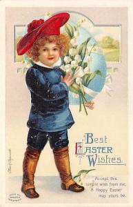 Artist Ellen Clapsaddle Easter Post Card Unused