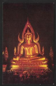 Pra Buddha Jinaraj Temple Bangkok Thailand unused c1950's