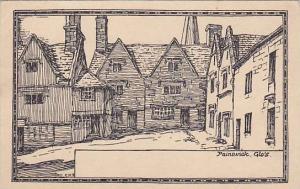 Sketch of Painswick, Glouchestershire, England, United Kingdom, PU-1933