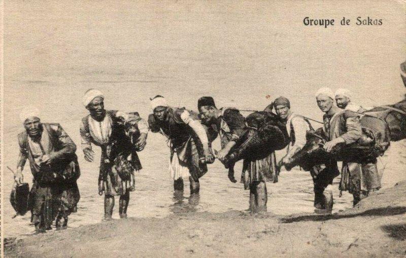 Egypt Groupe de Sakas 03.02