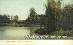 The Lake, Public Gardens Kimberley South Africa Unused