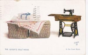 The Queen's Doll House In The Linen Room 1936 Tucks