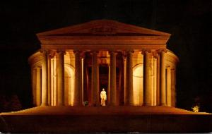 Washington D C Jefferson Memorial At Night