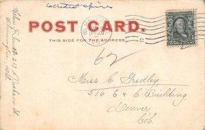 H76/ Dover Delaware Postcard c1907 Capitol Building Dover  117