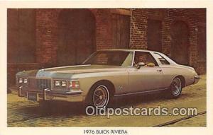 Postcard Post Card 1976 Buick Riviera