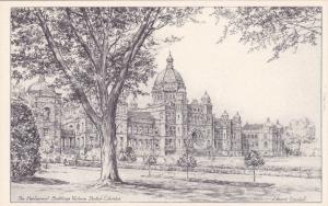 AS: Edward Goodall, Parliment Buildings #2, Victoria , B.C. , Canada , 30-40s