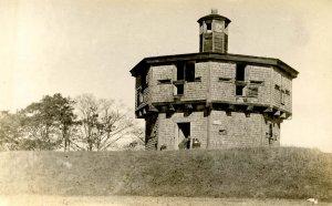 ME - Fort Edgecomb on Davis Island. Blockhouse   RPPC