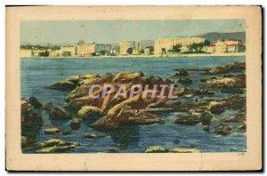 Old Postcard Cannes Large hotels