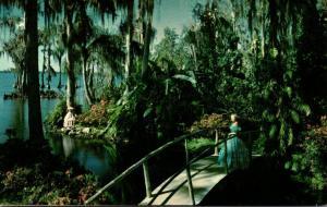 Florida Cypress Gardens Beautiful Flowers Palms Cypress and Banana Trees