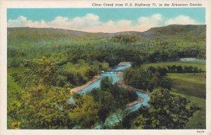 Arkansas Ozarks Clear Creek From U S Highway 71 In The Arkansas Ozarks