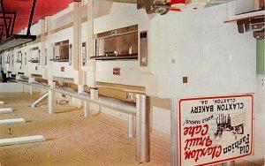 Advertising Post Card Claxton Bakery Claxton, GA, USA 1965