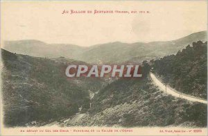 Postcard Old servance the ball (Vosges) Initially Panorama Cross Pass of the ...