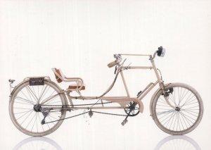 Sironval Sportplex French France 1939 WW2 Wartime Bicycle Postcard