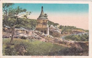 JERUSALEM , Israel , 10s-20s; Tomb of Absalon