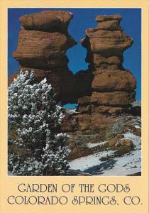 Colorado The Siamese Twins Garden Of The Gods Colorado Springs