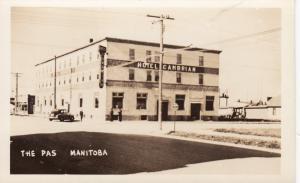 RP; THE PAS , Manitoba , Canada , 1930s ; Hotel Cambrain