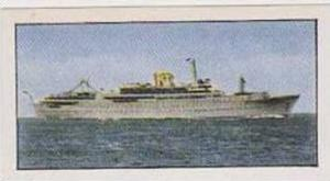 Golden Grain Tea Vintage Trade Card 1970 Passenger Liners No 13 Aureol