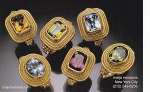 Advertising Maija Neimanis Jewelry New York City
