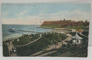 Clarence Gardens Scarborough UK Vintage Postcard