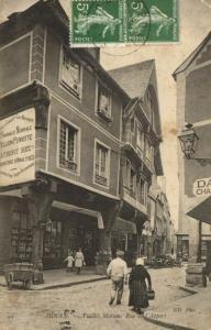 CPA DINAN - Vieilles Maisons - Rue de l'Apport (104300)
