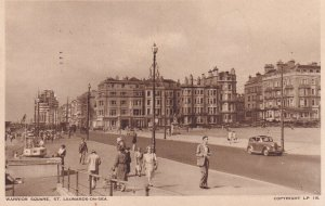 ST. LEONARDS ON SEA, Hastings, Sussex, England, PU-1948; Warrior Square