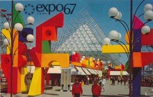 Expo67 - Montreal QC, Quebec, Canada - World Fair 1967 - La Ronde Amusement Park
